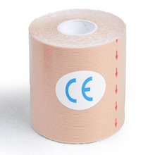 7,5 см кинезио Taping Спортивная аппликация мышечная паста Ридж дизайн наклейки эластичность аппликация Спортивная Защитная повязка