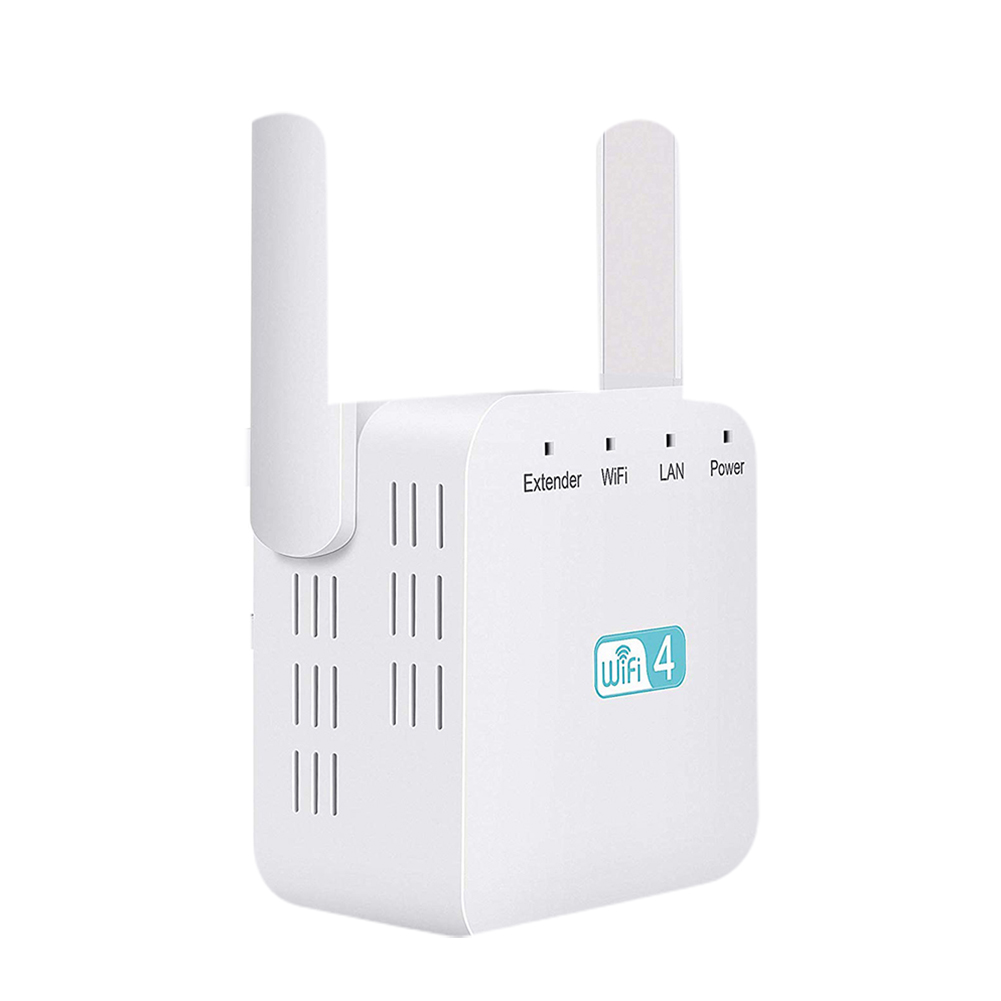 300Mbps Portable Signal Booster Access Point Amplifier Range Extender Computer Network Home Office ABS Universal Wireless Router