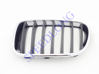 1 PC Left Side Front bumper upper kindey grille grill insert 51117210725 for BMW F25 X3 2011-2014