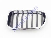 1 PC Linke Seite Front stoßstange oberen kindey grille grill einfügen 51117210725 für BMW F25 X3 2011-2014