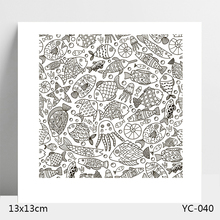 AZSG Marine organism Clear Stamps For DIY Scrapbooking/Card Making/Album Decorative Silicone Stamp Crafts