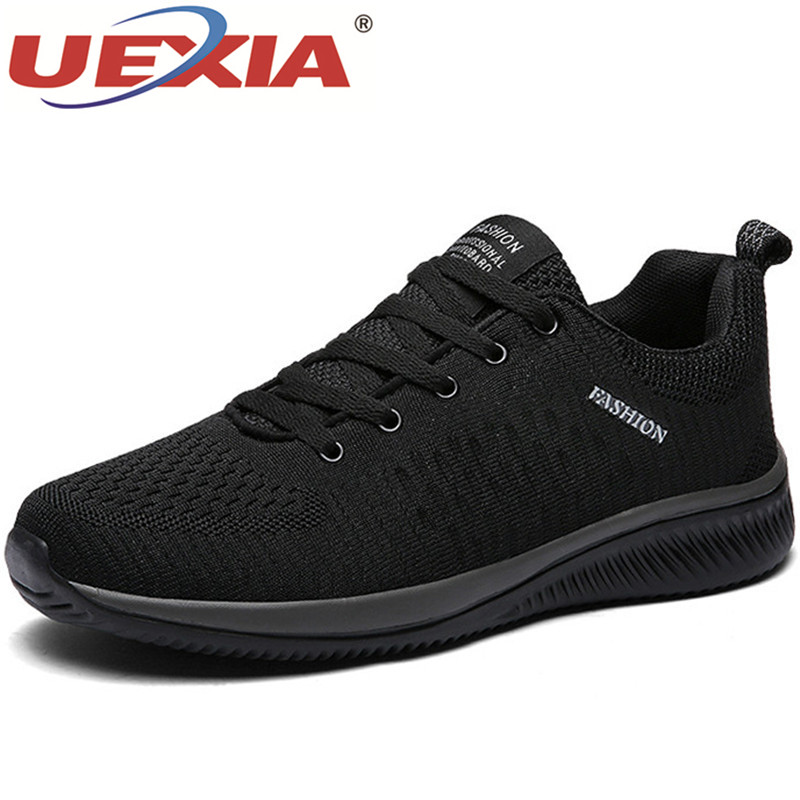 UEXIA Hot Sale Summer Lightweight Sneakers Fashion Famous Lace-up Style Men Shoes Comfortable Casual Style Men Sneakers Footwear
