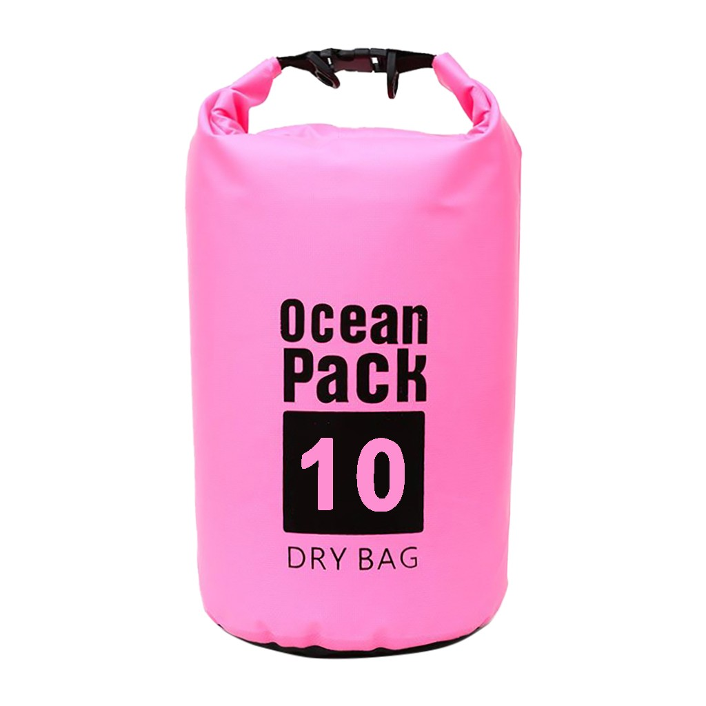 Ocean Pack Dry Bags For Canoe Floating Boating Kayaking Camping PVC Dry Bag Sack 10L Waterproof Backpack River Trekking bags