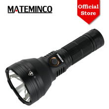 Mateminco MT35 Mini Luminus SST 40 2400 Lumens 875 Meters Rechargeable Long Range Throw LED Flashlight Torch for Camping, Hiking