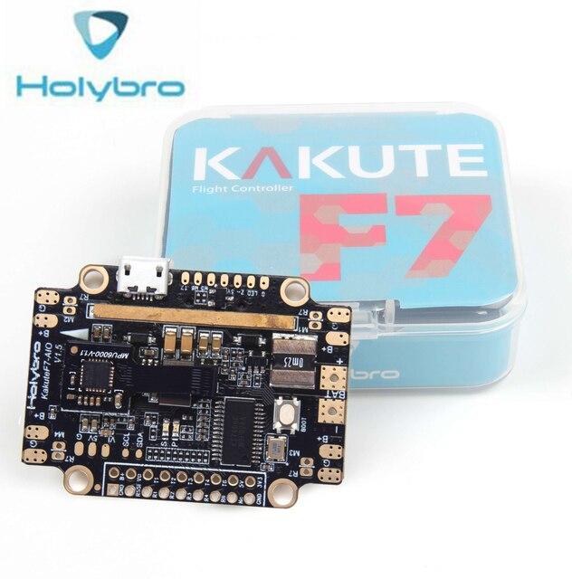 Holybro Kakute F7 AIO 1.5V 비행 컨트롤러 STM32F745 BMP280 IMU Betaflight OSD 통합 FC w/방진 패드
