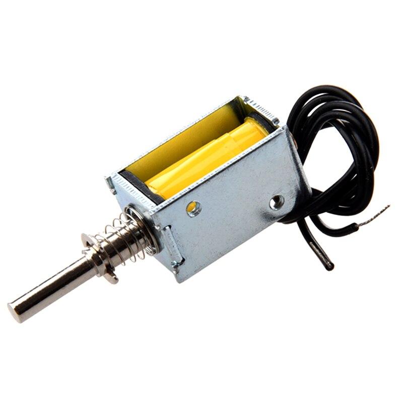 DC 4.5V 40g/2mm açık çerçeve aktüatör itme çekme Solenoid elektromıknatıs title=