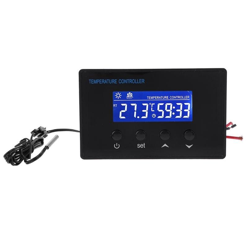 Digital Sauna Thermostat 220V 10A Temperature Controller Timer With  NTC Sensor 19QB