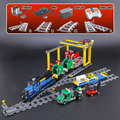02008 RC City Series Cargo Train Совместимость 60052 строительные блоки кирпичи развивающие игрушки рождественские подарки для детей