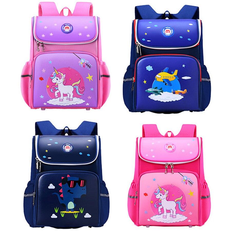 Children School Bags For Boys Orthopedic School Backpacks Girls Book Bag Knapsack Mochila Escolar Grade 1-6