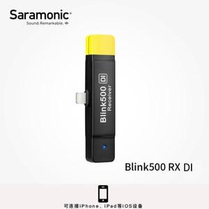 Image 4 - מקלט/משדר עבור Saramonic בלינק 500 סדרת B1 B2 B5 B6 כפול ערוץ אלחוטי מיקרופון מערכת VS RODE אלחוטי ללכת