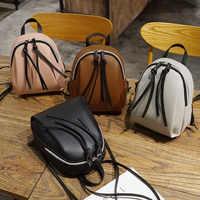 Casual Mini Backpacks For Women Designer School Bags For Teenager Girls Harajuku Female Travel Backpacks Lady Small Purses 2019