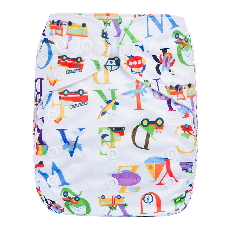 Baby Cotton Nappies Eco Friendly Reusable Nappies Baby Washable Biodegradable Diapers N25