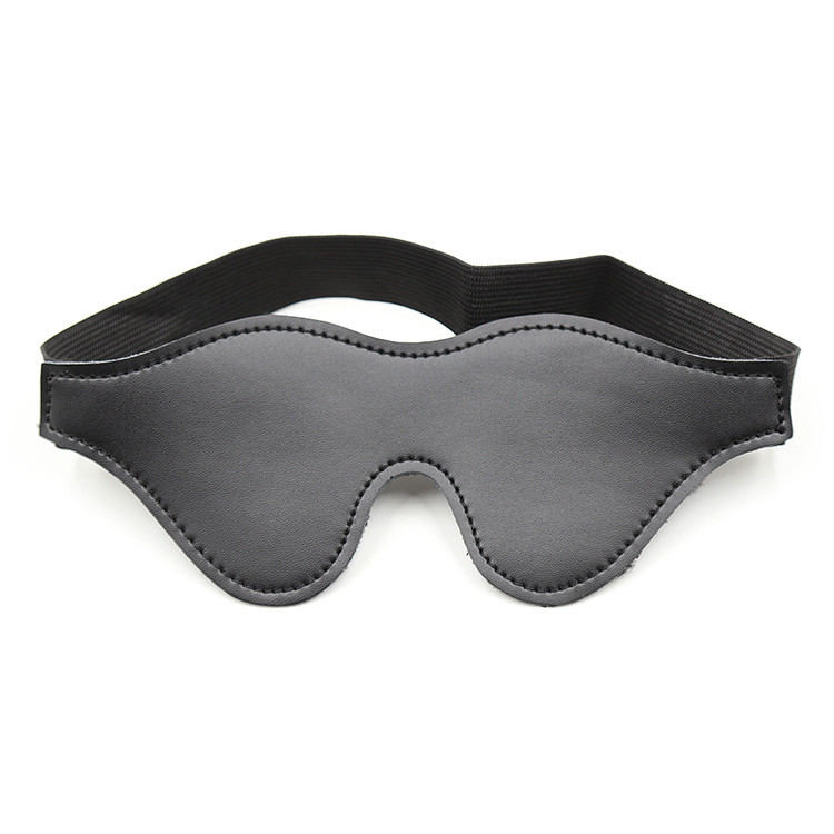 Sex Eye Mask SM Bondage Blindfold Erotic PU Leather Cover Sleeping Blindfold BDSM Restraints Flirting Sex Toys For Adult Couples