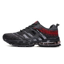 ALDOMOUR Running Shoes The Latest Fashion Couple Of 2019 Outdoor Leisure Air Cushion Breathable Men And Women Sports J