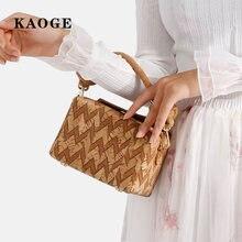 Kaoge маленькая квадратная сумка в западном стиле женская мессенджер