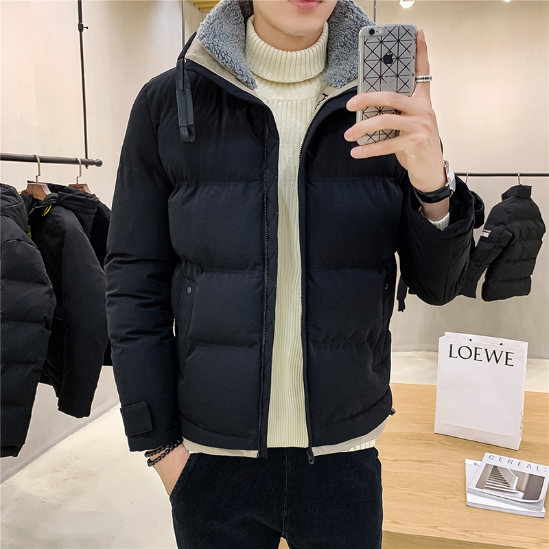 2019 New  Mens Jacket Fashion Slim Male Jacket Hip Hop Men Jacket Winter Warm Jacket Men High Quality Casual Coat Big Size M-4XL