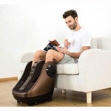 Электрический массажер для ног, машина для разминания икры шиацу, воздушная компрессия, массаж ног с подогревом, косметологический массажер для ног