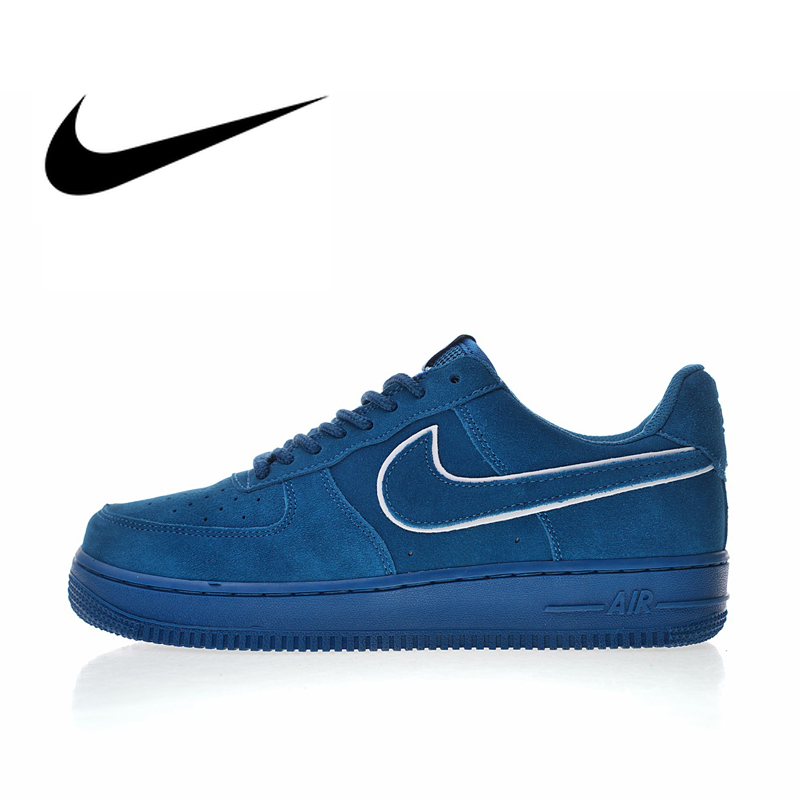 Original Authentic Nike Air Force 1 07 LV8 Men's Skateboard Shoes Trend Outdoor Sports Shoes Comfortable Wear New AA1117