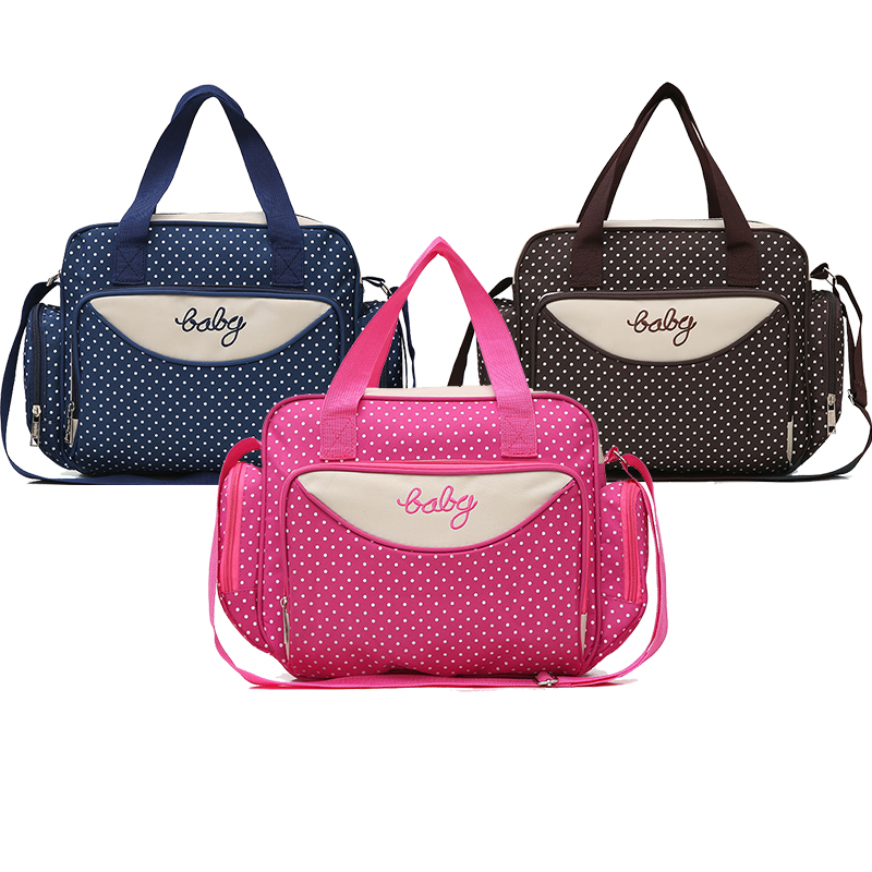 Hot Sale Diaper Bag One Shoulder Baby Bag Large Capacity Nappy Bag Women Travel Handbag Baby Nursing Maternity Bag Luiertas