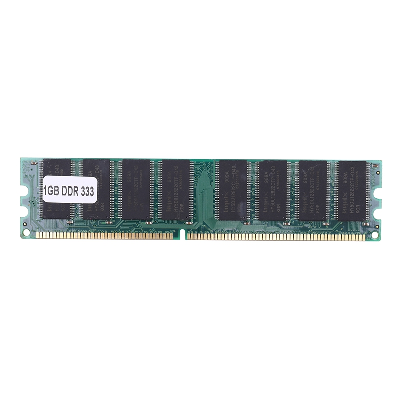 <font><b>1Gb</b></font> <font><b>Ddr</b></font> <font><b>400</b></font> 400Mhz Pc3200 184Pin Non-Ecc Desktop Dimm Memory Ram For Amd Desktop Pc image