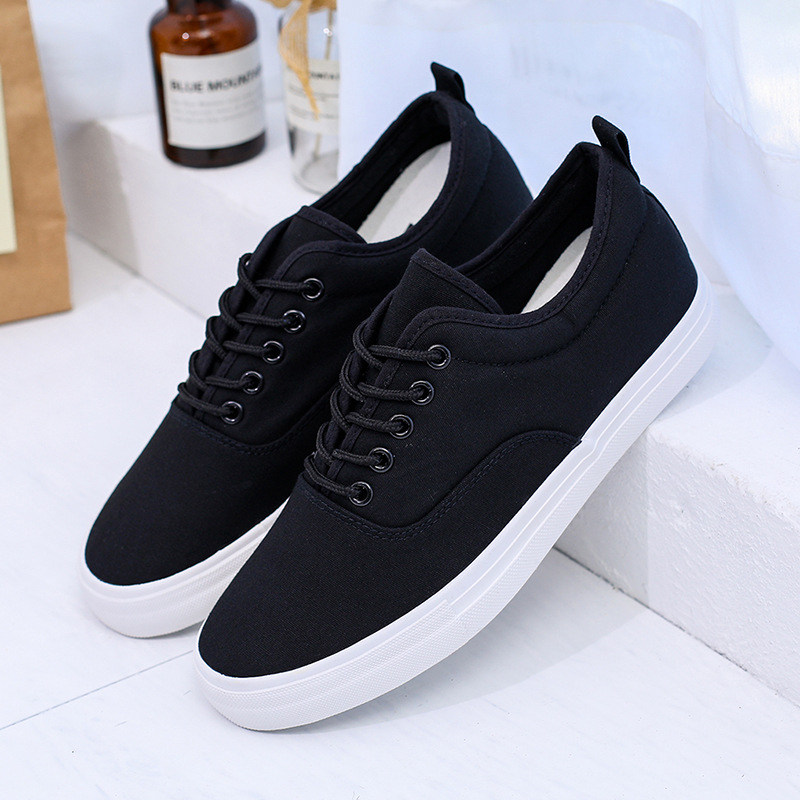 Fashion Sneakers Men Casual Shoes Black Tenis Canvas Shoes Lightweight  Vulcanize Shoes 2020 Zapatos Ze Hombre