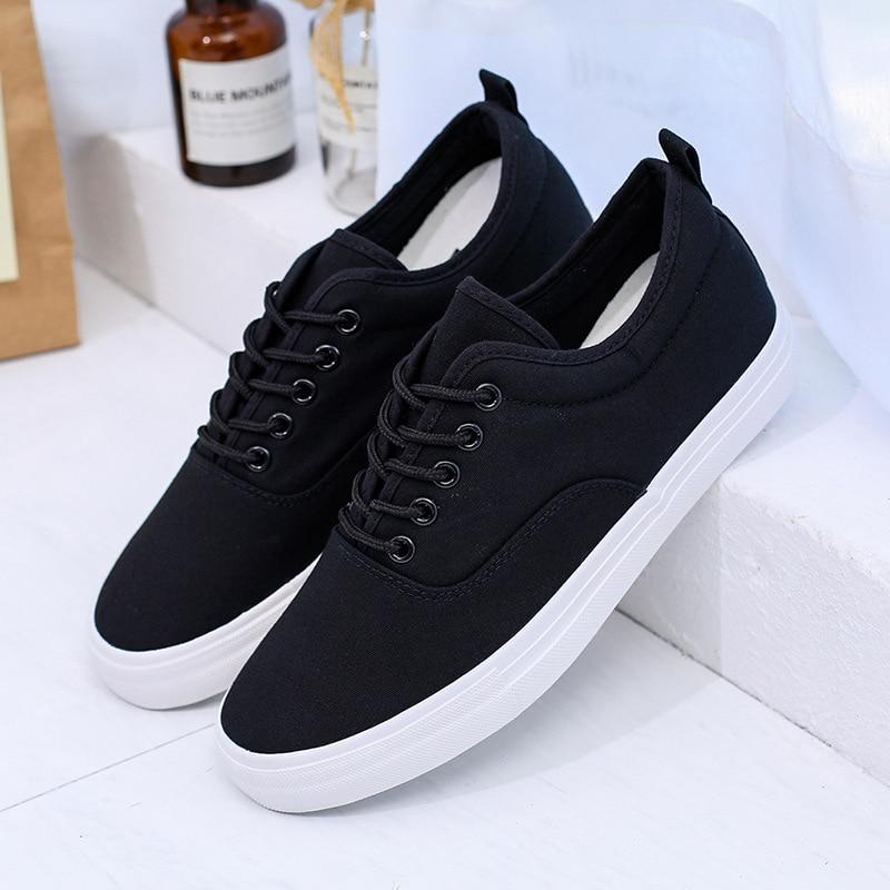 Fashion Sneakers Men Casual Shoes Black Tenis Canvas Shoes Lightweight  Vulcanize Shoes 2020 Zapatos Ze Hombre