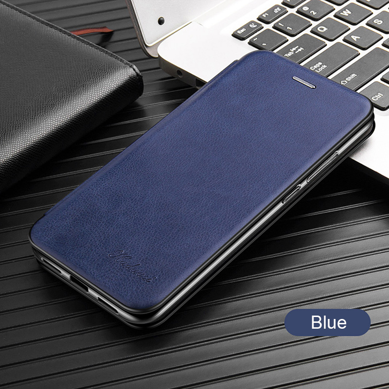 Leather Flip Magnetic Case For Xiaomi Redmi note 8t 8a 9 8 pro 9s 7 7a 5 plus a2 17