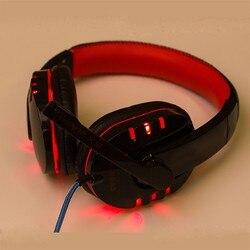 Игровая стереогарнитура оголовье наушников USB 3,5 мм светодиодный с микрофоном для ПК RD PS4 компьютерные наушники 3,5 мм