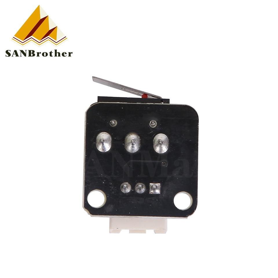 Купить 3d принтеры аксессуары x/y/z оси концевой упор выключатель 3pin