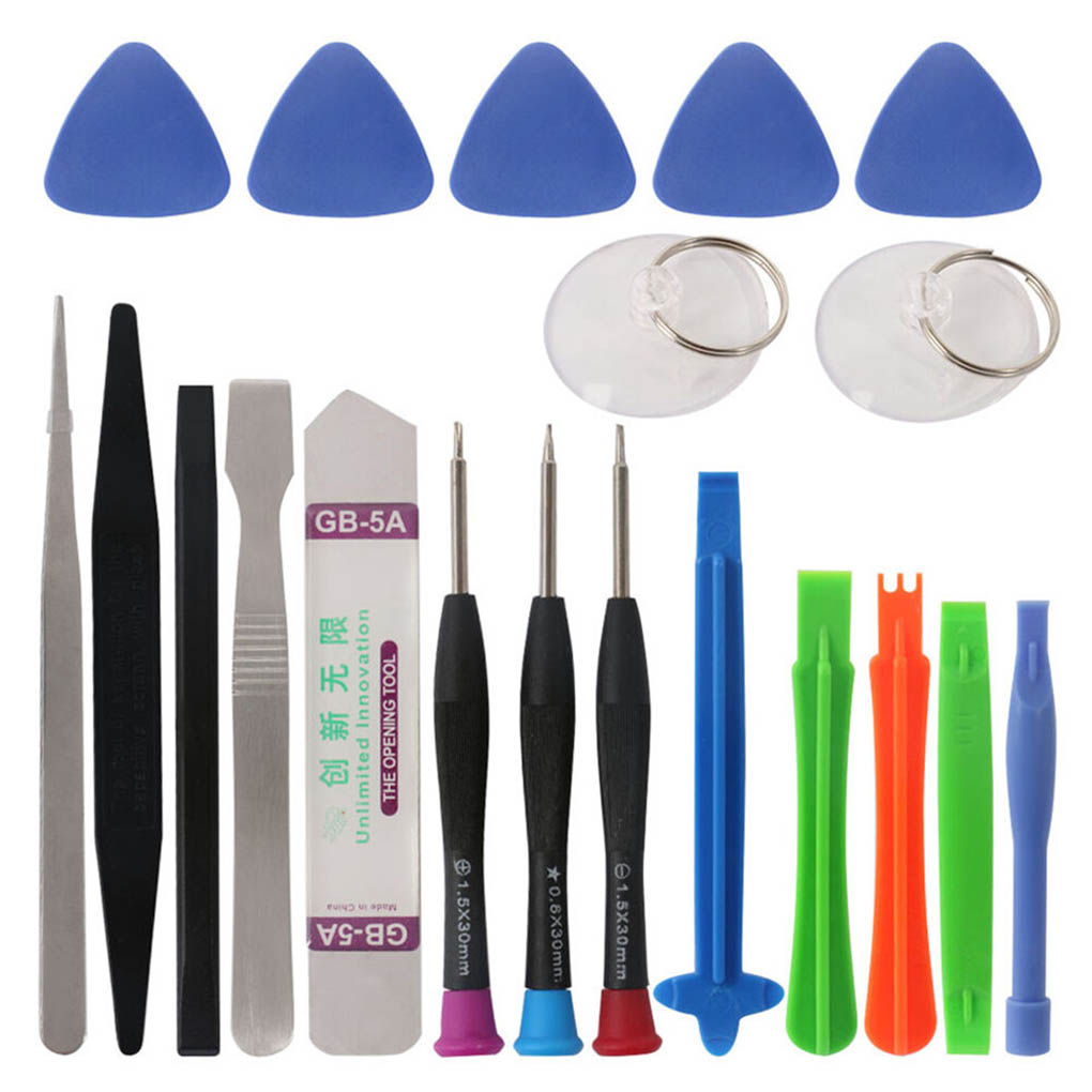 20-in-1 Mobile Phone Repair Tools Kit Spudger Pry Opening Tool Electronics Screwdriver Repair Tools
