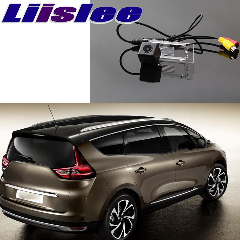 Liislee For Renault Scenic IV 4 2016~2020 Car Camera High Reverse Rear View Camera To Use CCD With RCA Connector