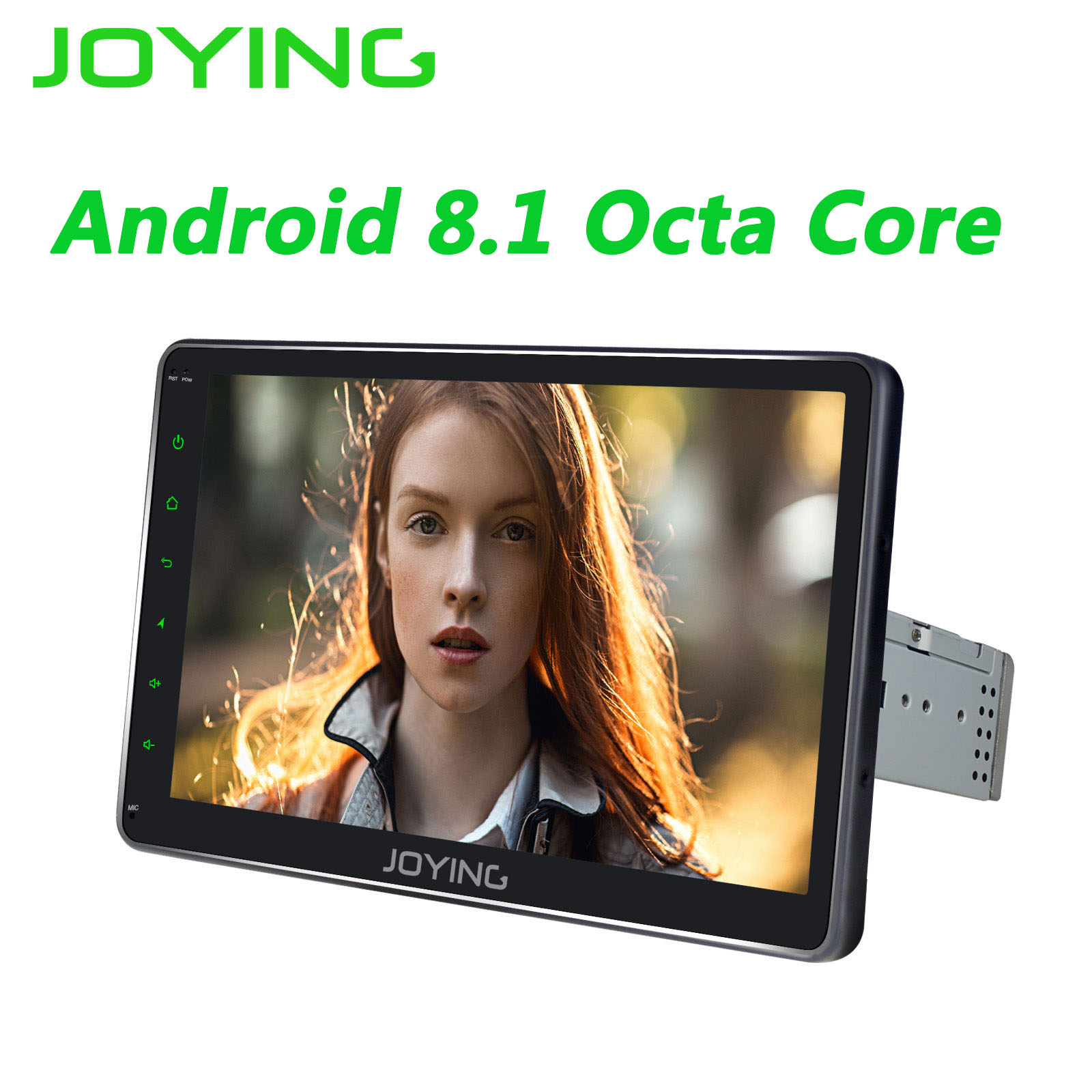 JOYING 10 1 inch IPS Screen car radio strereo Android 8 1 universal radio cassette player