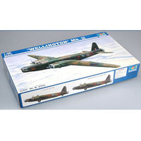 Trumpeter 02823 1/48 British Vickers Wellington Mk.III Bomber Plane Airplane Aircraft Toy Plastic Assembly Model Kit