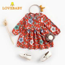 2019 New Kids Dresses for Girls Christmas Princess Dress Print Spring Summer Clothes 6-48M Vestido Infantil Toddler