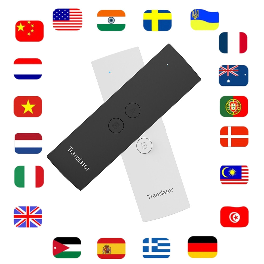 Portable Smart Voice Translator Muama Enence for Learning Travel Business Meeting 39 Languages Two Way Instant Translator image