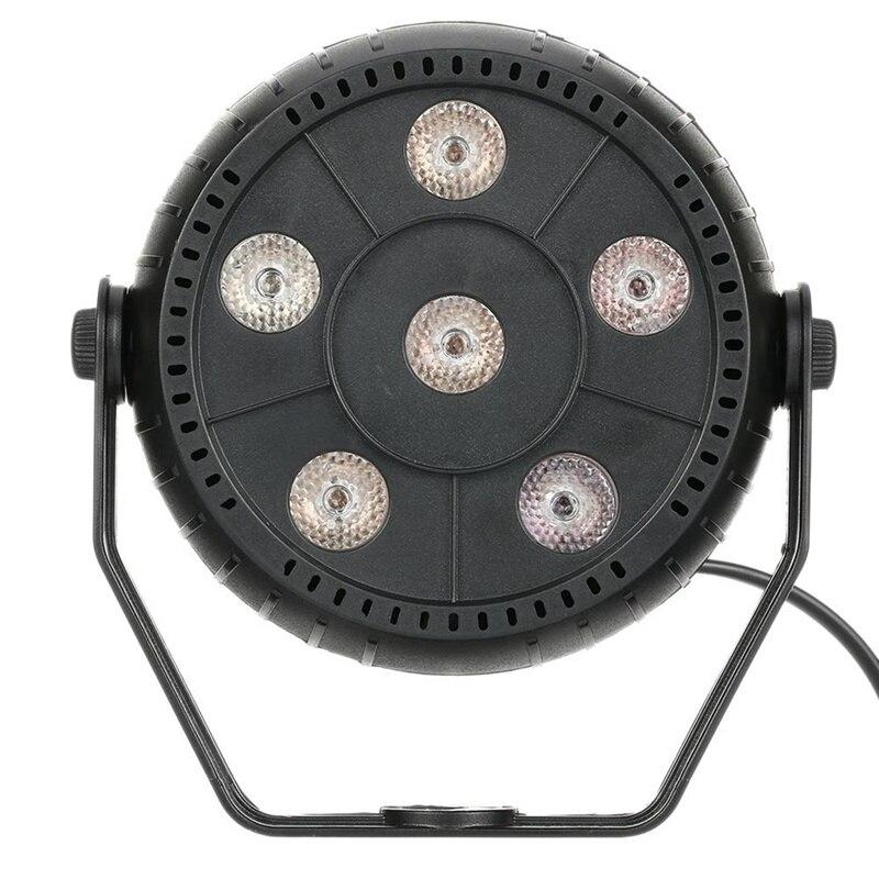 ELEG-Mini 13W Dj Laser Disco Ball Stage Light 6 Led Rgb Effect Portable Stage Par Light Auto Sound Activation Indoor Disco Lamp