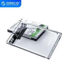 Orico 2139u3 прозрачный 25 inch hdd sata случае к usb 30 адаптер