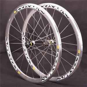Сверхлегкий дорожный велосипед V, тормозной диск S700c, космическая элита, колеса 40 мм из алюминиевого сплава, велосипедные колеса