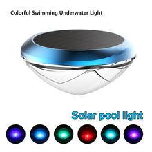 Светильник светодиодный для бассейна водонепроницаемый с питанием