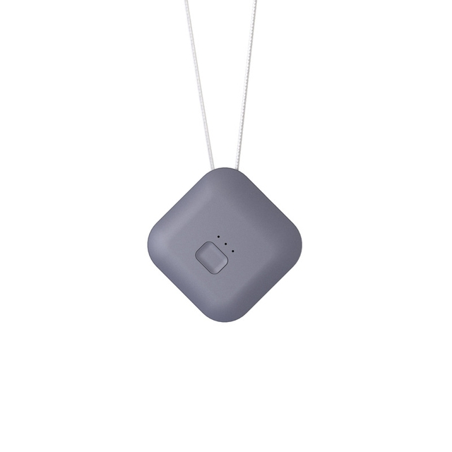 Air Purifier USB Portable Personal Wearable Necklace Negative Ionizer Anion Air Cleaner Air Freshener