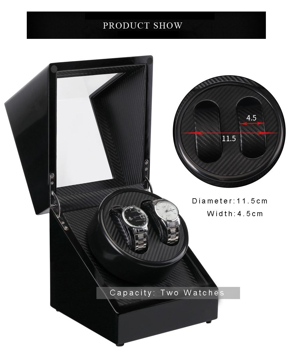 exibição ultra-silencioso motor shaker 2 + 0 winder caixa