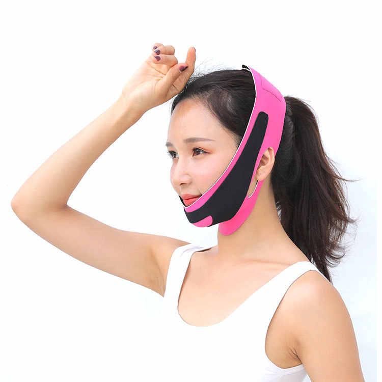 1 sztuk V twarzy podnieś pas usuwania pas wyszczuplający Lifting twarzy szczuplejsze bandaż Wrap przeciw zmarszczkom starzenia się wyszczuplanie podwójnego podbródka narzędzie