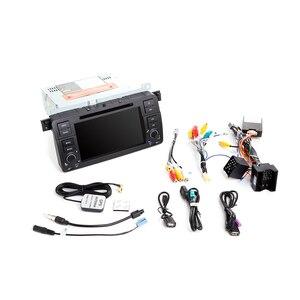 Image 5 - Josmile samochodowy odtwarzacz multimedialny 1 Din Android 9.0 dla BMW E46 M3 Rover 75 Coupe nawigacja GPS DVD Radio samochodowe 318/320/325/330/335