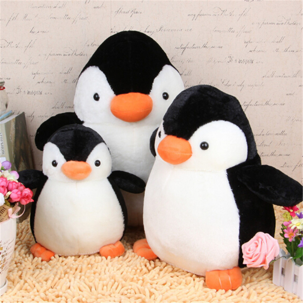 1PCS Lovely Cute Penguin Stuffed and Plush Toys Soft for Children Best Gifts Soft and comfortable neck cushion