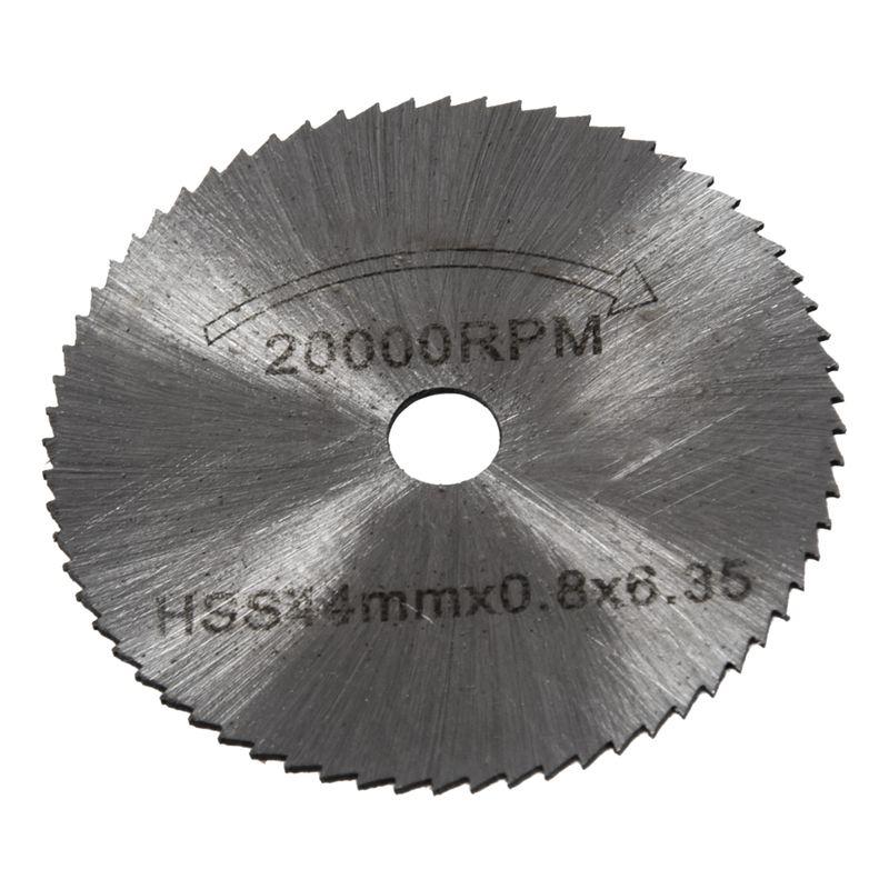 Hot Sale 7x HSS Circular Wood Cutting Saw Blade Discs Mandrel Mini Drill For Rotary Tool