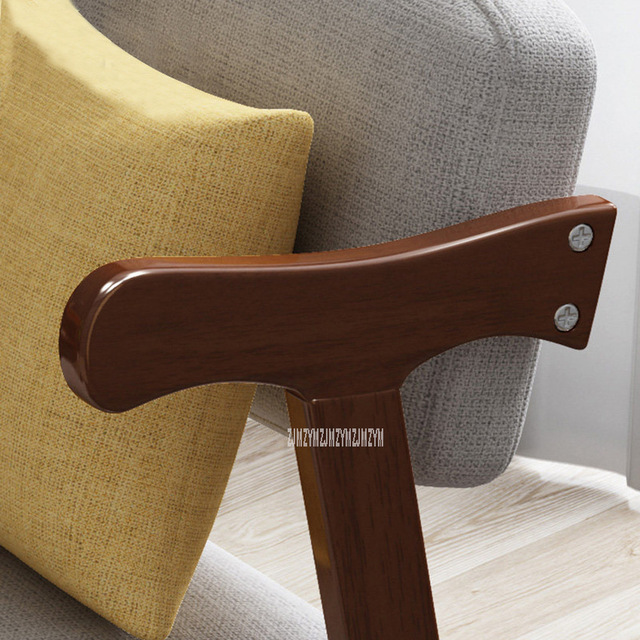 Solid Wood Dining Chair With Soft Seat 2