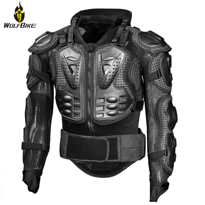 Body Protector Snowboard Back Support Breathable Skateboard Motorcycle Moto Riding Spine Shoulder Protection Motocross Suits