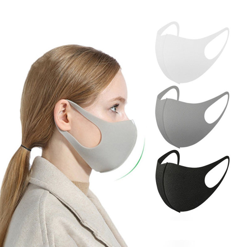 Black/Pink Face Mouth Mask Cover Anti Haze Dust Safety Washable Reusable Fashion Designer Women Men Kpop Bts Mouth Masks