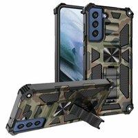 Custodia per armatura militare antiurto mimetica per Samsung Galaxy S21 FE Note 20 Ultra S20 S21 Plus 5G A12 A22 A32 A52 A82 custodia