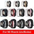 Чехол для часов для Mi band часы Lite/Redmi 43,5 мм 37 мм Экран протектор Смарт наручные часы, аксессуары для наручных часов Mi часы Redmi термополиуретано...